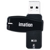 imation Swivel USB Flash Drive, 8 GB
