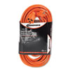 Innovera Indoor/Outdoor Extension Cord, 50 Feet, Orange