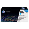 Q2671A (HP 309A) Toner Cartridge, 4000 Page-Yield, Cyan