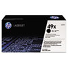 Q5949XG (HP 49X) Government Smart Toner Cartridge, 6000 Page-Yield, Black