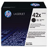 Q5942XG (HP 42X) High-Yield Government Smart toner , 20,000 Page-Yield, Black