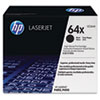 CC364X (HP 64X) High-Yield Toner Cartridge, 24,000 Page-Yield, Black