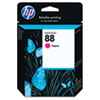 C9387AN (HP 88) Ink Cartridge, 1000 Page-Yield, Magenta