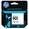 CC656AN (HP 901) Ink Cartridge, 360 Page-Yield, Tri-Color