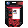 CB277AN (HP 78+) Ink Cartridge, 560 Page-Yield, Tri-Color