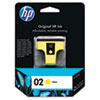 C8773WN (HP 02) Ink Cartridge, 500 Page-Yield, Yellow
