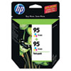 CD886FN (HP 95) Ink Cartridge, 330 Page-Yield, 2/Pack, Tri-Color
