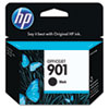 CC653AN (HP 901) Ink Cartridge, 200 Page-Yield, Black