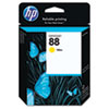 C9388AN (HP 88) Ink Cartridge, 860 Page-Yield, Yellow