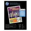 HP Color Laser Photo Paper, 52 lbs., Matte, 8-1/2 x 11, 250 Sheets/Pack