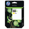 C9393AN (HP 88XL) Ink Cartridge, 1540 Page-Yield, Yellow