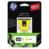 C8732WN (HP 02XL) Ink Cartridge, 750 Page-Yield, Yellow