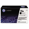 C7115AG (HP 15A) Government Toner Cartridge, 2500 Page-Yield, Black