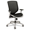 HON Boda Series High-Back Work Chair, Mesh Seat and Back, Black