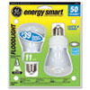 GE Compact Fluorescent Bulb, 14 Watt, R20 Reflector, Soft White, 2/Pack