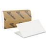 Georgia Pacific Professional Single-Fold Paper Towel, 10 1/4 x 9 1/4, White, 250/Pack, 16 Packs/Carton