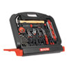 Great Neck 48-Piece Multi Purpose Tool Set in Black Stand-Up Case