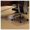ClearTex Ultimat Chair Mat for Plush Pile Carpets, 47 x 35, Clear
