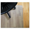 EcoTex Revolutionmat Recycled Chair Mat for Hard Floors, 48 x 51