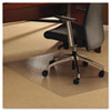 ClearTex Ultimat Chair Mat for Plush Pile Carpets, 48 x 53, Clear