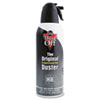 Disposable Compressed Gas Duster, 10 oz Can