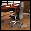 ClearTex Ultimat Polycarbonate Chair Mat for Hard Floors, 47x35, With Lip, Clear