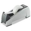 "Fellowes Office Suites Desktop Tape Dispenser, 1"" Core, Plastic, Heavy Base, Black/Silver"