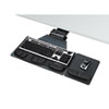 Professional Corner Executive Keyboard Tray, 19 x 14-3/4, Black