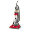 Eureka Maxima Lightweight Bagless Upright Vacuum, 15 lbs, Red