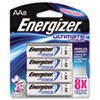 Energizer e� Lithium Batteries, AA, 8 Batteries/Pack