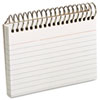 Oxford Spiral Index Cards, 3 x 5, 50 Cards, White