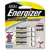 Energizer Advanced Lithium Batteries, AAA, 8/Pack