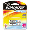 Energizer Advanced Lithium Batteries, AAA, 2/Pack
