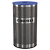 Ex-Cell Stainless Steel Recycle Receptacle, 33gal, Stainless Steel