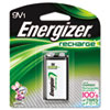 Energizer e NiMH Rechargeable Battery, 9V