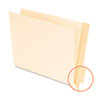 Pendaflex Laminated Shelf File Folders, Straight Cut End Tab, 11 Point Letter, 100/Box