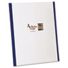 YourStyle Custom Tri-Folio Presentation Folder, Letter Size, Navy/White, 4/Pack