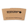 Eco-Products EcoGrip Recycled Content Hot Cup Sleeve, Kraft, 1300/Ctn