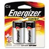 Energizer MAX Alkaline Batteries, C, 2 Batteries/Pack