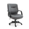 Stratus Series Mid-Back Swivel/Tilt Chair, Gray Fabric