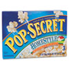 Pop Secret Microwave Popcorn, Homestyle, 3.5 oz Bags, 3 Bags/Box