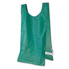 Champion Sports Heavyweight Pinnies, Nylon, One Size, Green, 1 Dozen