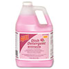 Dish Detergent, Pink Rose, 1 gal Bottle, 4/Carton