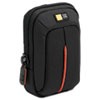 Compact Digital Camera Case, Polyester/Nylon, 3-1/2 x 2 x 4-3/4, Black
