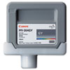 Canon 3858B001AA (PFI-304) Ink, 330mL, Gray