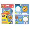 SmartDudes Write On/Wipe Off Flash Cards, Telling Time, K and Up, 9/Pk