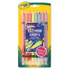 Twistable Crayons, 8 Neon Colors/Set