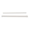 Jumbo Straws, 7 3/4&quot;, Plastic, Translucent, 500/Box