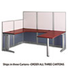 U-Workstation Box 3 (not sold separately) Office-in-an-Hour Hansen Cherry