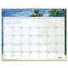 AT-A-GLANCE Tropical Escape Monthly Wall Calendar, 15 x 12, 2014